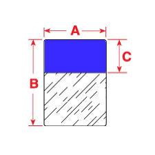Brady Labels TLS2200 PTL-31-427-BL 250PC