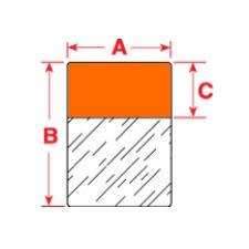 Brady Labels TLS2200 PTL-19-427-OR 250PC