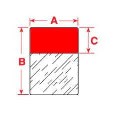 Brady Labels TLS2200 PTL-23-427-RD 100PC