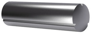 Grooved pin, full length taper grooved DIN 1471 Free-cutting steel 2,5X10MM