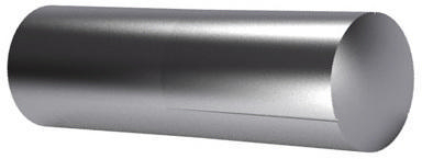 Grooved pin, half length taper grooved DIN 1472 Free-cutting steel 1,5X6MM