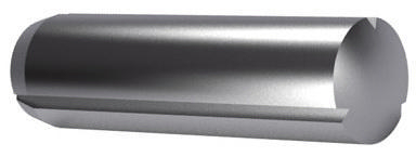 Grooved pin, full length parallel with chamfer DIN 1473 Free-cutting steel 4X36MM