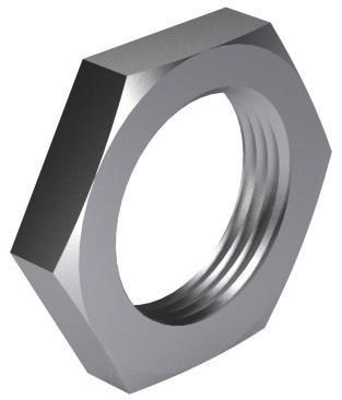 Piuliță hexagonală îngustă DIN431B pentru țevi, filet tip BSPP-G DIN 431 B Oțel Simplu 14H G1/8