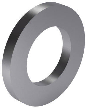 Plain washer for cheese head screws DIN 433-1 Stainless steel A2 140 HV M18