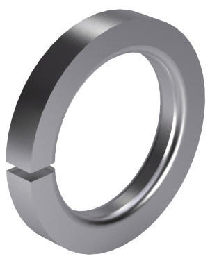 Reinforced contact spring lock washer DIN 43699 Spring steel Zinc plated