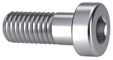 Hexagon socket head cap screw with low head and pilot recess DIN 6912 Stainless steel A4