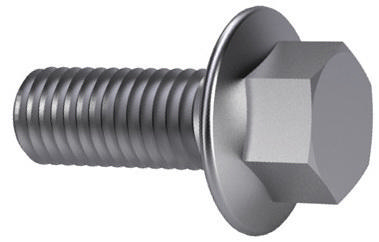 TAPTITE 2000® Hexagon head thread rolling screw with flange DIN ≈7500 Steel Zinc plated