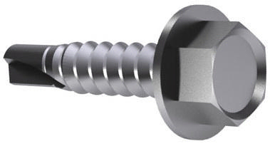 SPEDEC Self-drilling hexagon head screw washer faced DIN 7504 K Steel Zinc plated large pack