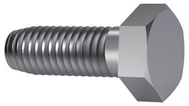 Hexagon head thread cutting screw DIN 7513 A Steel Zinc plated