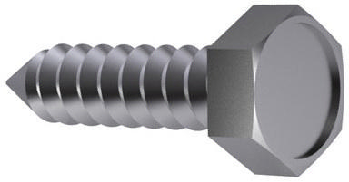 Hexagon head tapping screw DIN 7976 C Stainless steel A2 ST3,9X13MM
