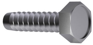 Hexagon head tapping screw without point DIN 7976 F Steel Zinc plated ST8(7,9)X16MM