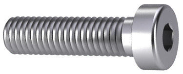 Hexagon socket head cap screw with low head DIN 7984 Stainless steel A2