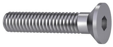 Countersunk head socket cap screws