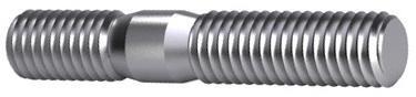 D835 śruby dwustronne ~2d DIN 835 Stal Bez pokrycia 8.8