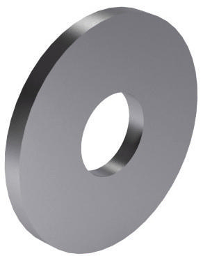 Plain washer type M NF E25-513 Steel Zinc plated 100 HV M42
