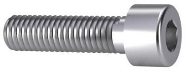 Hexagon socket head cap screw DIN 912 Stainless steel A4 70 M1,6X6