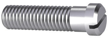 Slotted pan head screw small head DIN 920 Steel Zinc plated 5.8