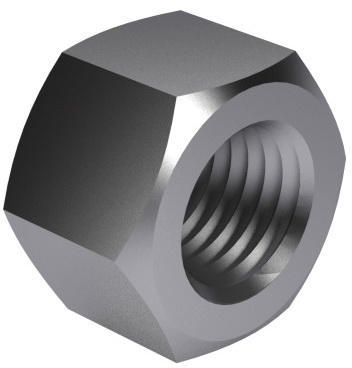Prevailing torque type hexagon high nut, all metal MF ISO 10513 Steel Zinc plated 8