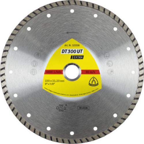 Klingspor Diamantový kotúč DT 300 UT 230X2,5X22,23