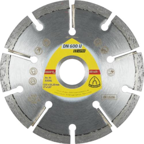 Klingspor Diamond blade DN 600 U Diamond 125X8X22,23