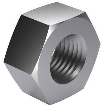 Vysokopevnostní konstrukční matice EN 14399-4 Ocel Žárový zinek 10
