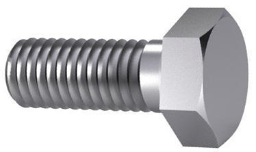 Hexagon bolts and screws