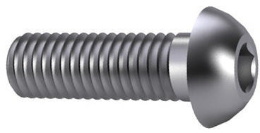 Hexagon socket button head screw ISO 7380-1 Steel Plain 010.9