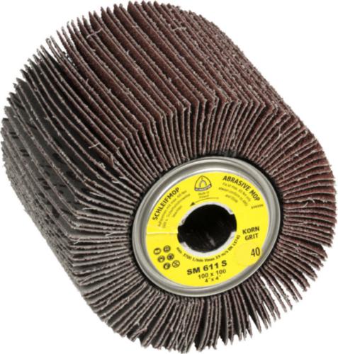 Klingspor Abrasive mop 100X100X19 G180