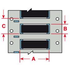 Brady HT PVDF Sleeve B33D-750-2-345BK 250PC