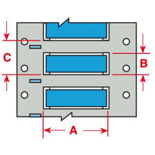 Brady Wire Marking Sleeve PSPT-500-175-BL 100PC