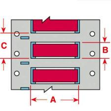 Brady Wire Marking Sleeve PSPT-250-1-RD 100PC