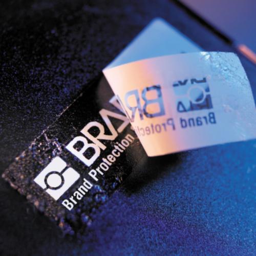 Protección y etiquetas de seguridad