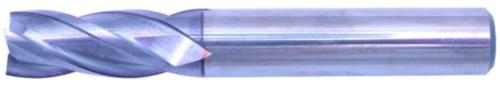 Swiss Tech Vingerfrees 4 snijder DIN 6535 HA Short Hardmetaal TiCN 5,0MM