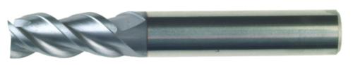Swiss Tech Spiebaanfrees 3 snijder Regular Hardmetaal TiCN 10,0MM