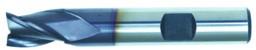Swiss Tech Fresa de ranurar 3 cuchillas DIN 327 Short Cobalt HSS TiALN 16,0MM