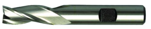 Swiss Tech Fraises à rainurer 3 dentes DIN 844 Regular Cobalt HSS Non couché 16,0MM