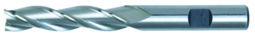 Swiss Tech Slot drill 3 flute DIN 844 Long Cobalt HSS Uncoated 4,0MM
