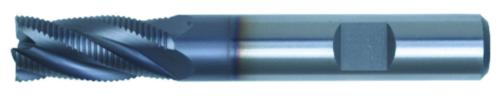 Swiss Tech Fraises d'ébauche DIN 844 Regular Fin Cobalt HSS TiCN 16,0MM