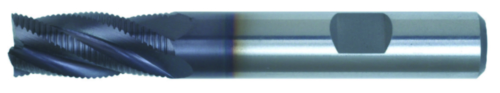 Swiss Tech Hrubovacie frézy DIN 844 Regular Jemný Cobalt HSS TiALN 12,0MM