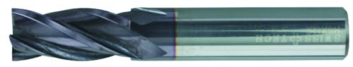 Swiss Tech Fraises de finition 4 dentes DIN 844 Court Carbure AlTiN 12,0MM