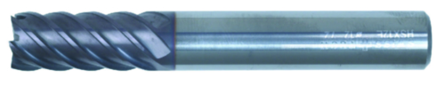 Swiss Tech End mill 4/8 flute DIN 844 Regular Carbide AlTiN 6,0MM