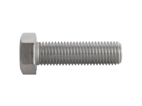 Hexagon head screw DIN 933 Stainless steel A2 70 M2X14