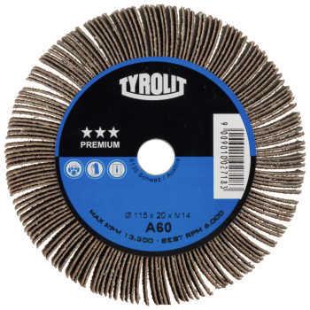 Tyrolit Flap wheel 125X20 M14 120
