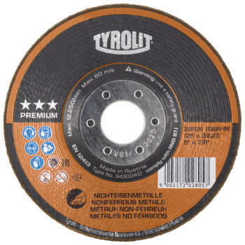 Tyrolit Disque rondel A36N-BF