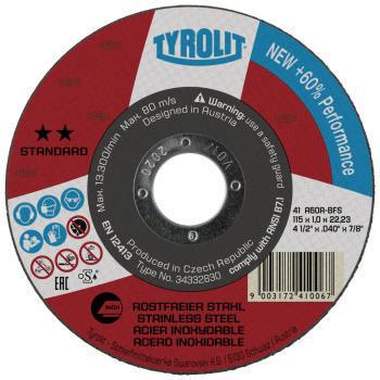 Tyrolit Disco de corte 115X1,0X22,23